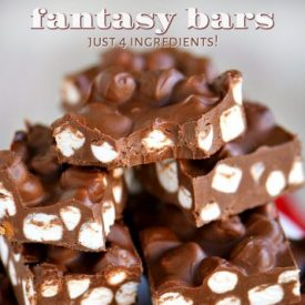 5 Minute Fantasy Bars – Just 4 Ingredients!
