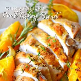Citrus Herb Roast Turkey Breast