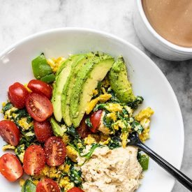 Vegetable Breakfast Scrambles