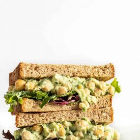 Scallion Herb Chickpea Salad