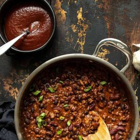 BBQ Beef and Beans