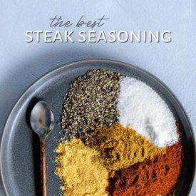 The Best Steak Seasoning