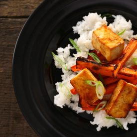 Easy Asian Broiled Tofu
