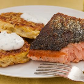 Easy Seared Salmon Fillet