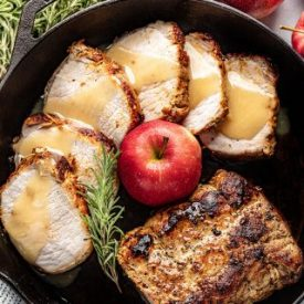 Apple-Glazed Roasted Pork Loin
