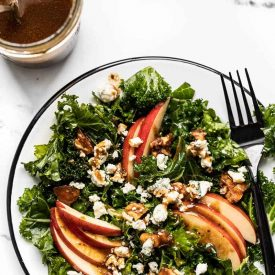 Autumn Kale and Apple Salad