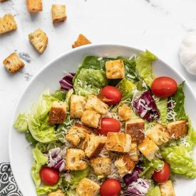 Easy Baked Homemade Croutons