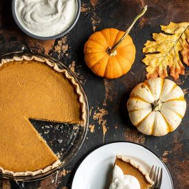 Maple Brown Butter Pumpkin Pie
