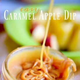 Easy Caramel Apple Dip – Just 3 Ingredients!