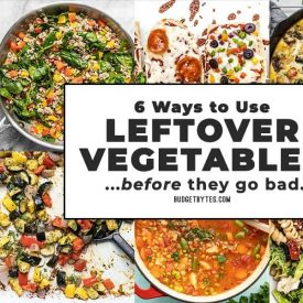 6 Easy Ways to Use Leftover Vegetables