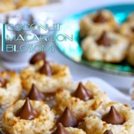 Coconut Macaroon Blossoms