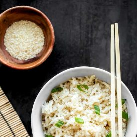 Simple Sesame Rice