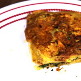 Dhaba Style Bread Omelette