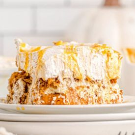 Pumpkin Lasagna – Easy No Bake Pumpkin Dessert
