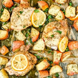 Greek Chicken Recipe – A Sheet Pan Dinner